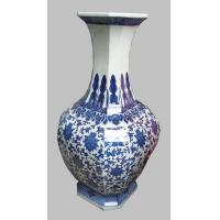 Buy cheap blue and white porcelain vase from wholesalers