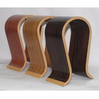 China Elegant Oak Wireless Headphone Stand Clear Painting For Office Decoration on sale