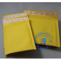 China Padded Bubble envelope type stock size 15cm*18cm Yellow Kraft padded bag mailer on sale