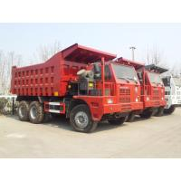 Quality 70 Tons Mining King 6x4 Tipper Truck10 Wheeler With Front Lifting System for sale