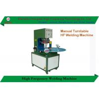 China Rotary High Frequency Welding Machine Semi Automatic With Single Head Rotary Table on sale