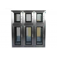 Buy cheap Free Design Drawing SUS304 Cleanroom Pass Box With Multilayer Window from wholesalers