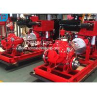 Buy cheap Diesel Engine Driven Centrifugal Fire Pump 2000GPM@150PSI High Performance product