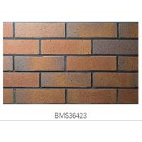 Buy cheap Matte Finish Surface Exterior Brick Veneer Panels Clay For Outside Wall product
