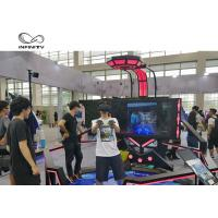 Buy cheap 56 Inch Display VR Shooting Simulator / 9D Virtual Reality Game Machine product