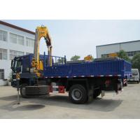 Buy cheap High Quality 5T Mobile Knuckle Truck Mounted Crane With Safety Transportation for Sale product
