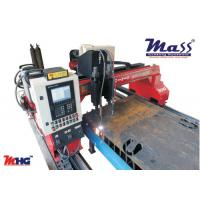 Buy cheap Double Sided Driven CNC Flame Plasma Cutting Machine With Status Indication Device product