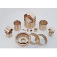 Buy cheap Wrapped bronze sliding bearing with lubrication pockets Low-maintenance DIN 1494 / ISO 3547 from wholesalers