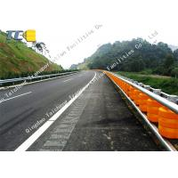 Buy cheap Hot Dip Galvanizing Rolling Guardrail Barrier Anti Collision Roller Barrel product