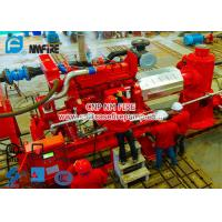 Buy cheap Diesel Engine Driven Fire Water Pump Set With 6 stage Multistage Vertical Turbine Fire Pump With 250 Usgpm product