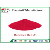 Buy cheap ISO9001 Clothes Color Dye Natural Clothing Dye C I Red 24 Reactive Red P-2B product