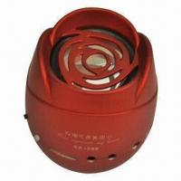 Buy cheap Insert Card Speakers , Supports Radio Function, Comes in Red Color product