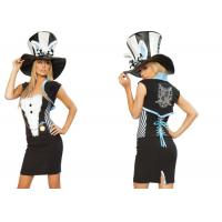 Buy cheap Fashion Fancy Charming Rabbit  Party Adult Costumes Black White  Blue Mixed Color product