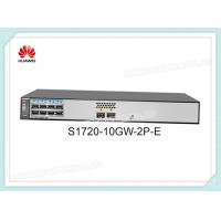 Buy cheap Huawei S1720-10GW-2P-E 8 Ethernet 10/100/1000 Ports 2 Gig SFP With License AC 110/220V product