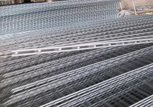 China Building Heavy Duty 1.5mm Double Wire Mesh Fence on sale