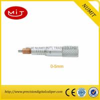Buy cheap Digital Outside Micrometer Head With Non Rotating Spindle used for electronic micrometer tool product