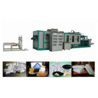 Buy cheap High Speed Plastic Foam Food Container Machine Omron Servo Control System product