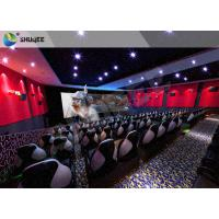 Buy cheap Electric 4D Cinema System Customized Seat / Professional 3D Glasses 4d Cinema product