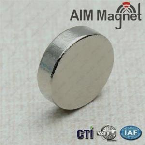 Buy cheap High performance sintered neodymium magnets product