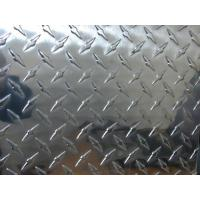 Buy cheap Professional Flat Clean Aluminium Checkered Plate , Al Tread Plates with 1100 3003 5052 product