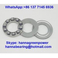 Quality F2.5-6 GCr15 Material Steel Cage Thrust Ball Bearing without Groove 2.5x6x3mm for sale