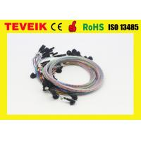Buy cheap DIN1.5 socket EEG cable eeg cup electrode, colorful medical EEG cable product