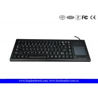 Buy cheap Rugged Plastic Industrial Keyboard With Function Keys And Integrated Touchpad product