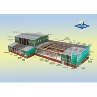 Buy cheap Water Proof Steel Structure Workshop Buildings Hot Dip Galvanized Surface product