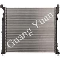 Quality Hard Brazing Aluminum Mercedes Benz Radiator Replacement High Performance DPI for sale