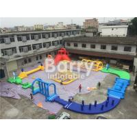 China Giant 22 * 25m Adult Amazing Inflatable Water Park With Air Blower / Repair Material on sale