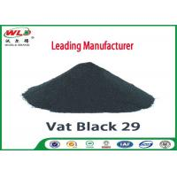 Buy cheap High Stability Cotton Fabric Dye Permanent Vat Gray BG C I Vat Black 29 product
