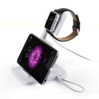 China Apple Watch iPhone 5 5S 6 Plus iPad Universal Charging Station Stand Holder Multi Function on sale