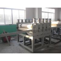 Buy cheap Twin Conical Screw Wood Plastic Production Line For Crust Furniture Board product