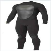 neoprene black men's diving suit