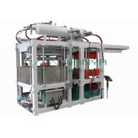 China  Recycled Paper Tableare Pulp Molding Equipment , Disposable Paper Plates Making Machine  for sale