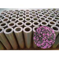 Buy cheap Airport HVAC Ventilation system Hepa Activated Carbon Air Filter Cylinder 145mm X 450mm For Odor Smell Air Filtration product