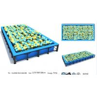China 69M2 Jumping Bed Sport Play Professional Foam Pit Used in Trampoline Park Kids Playground wholesale