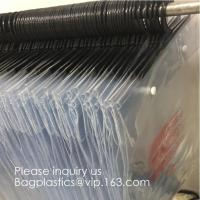 Buy cheap Poly Clear Plastic Hanger Covers Dry Cleaning Bags On Roll For Shirt,Hanger hook plastic bags zipper bag manufacturers product