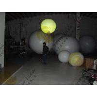 Buy cheap PVC Colorful Inflatable Balloon , Fireproof 0.18mm Thickness Advertising Balloon product
