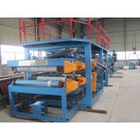 Buy cheap 1250mm Width EPS Sandwich Panel Roll Forming Machine 28Kw for Warehouse​ product