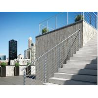 Buy cheap Solid Rod Railing Stainless Steel Guard Rails, Decking Metal Balustrade product
