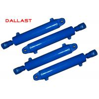 Buy cheap FE-129 Heavy Duty Hydraulic Cylinder Double Acting Chromed Engineering Hoist product