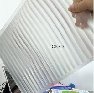 Buy cheap Supply Lenticular sheet material 100lpi 0.35mm /0.58mm lens sheet plastic lenticular for 3d lenticular printing Vietnam product