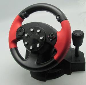 Buy cheap Jogo pequeno do PC da vibração de USB que compete o volante e os pedais do PC da roda product