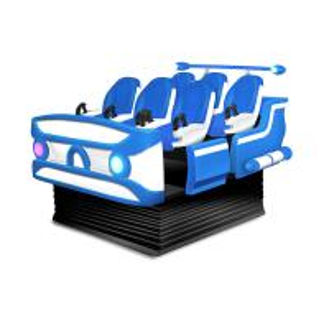 China Fiberglass 6 Seats Virtual Reality Cinema , 9D 6 Dof Motion VR Movie Theater on sale