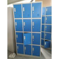 Buy cheap Vertical single one row two door Gym Locker/Staff Locker  H1850XW380XD450MM light gray product