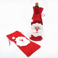 Buy cheap Christmas santa bag for Red Wine Bottle Cover product