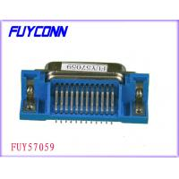 PCB Right Angle IEEE 1284 Connector, 36 Pin Centronic DDK Female Printer Connectors