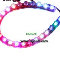 Buy cheap RGB Silicone Led Strip 3MM  24cm  for car 1.5w IP65 waterproof  12V product