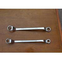 China Double Offset Basic Construction Tools , Ring Spanner Wrench Plum Wrench on sale